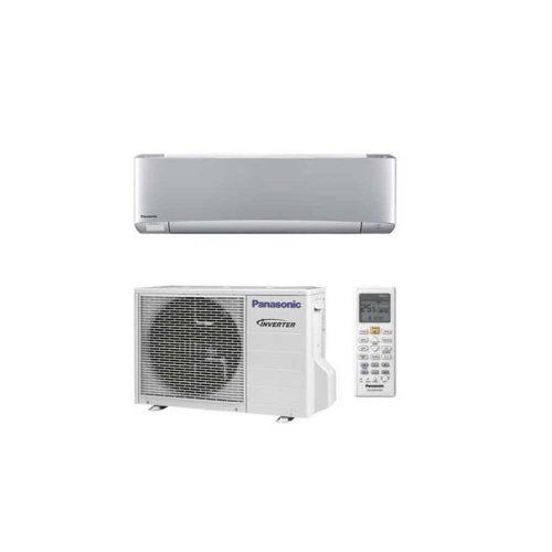 Panasonic Etherea KIT-XZ20-TKE Oldalfali Inverteres Klíma Ezüst