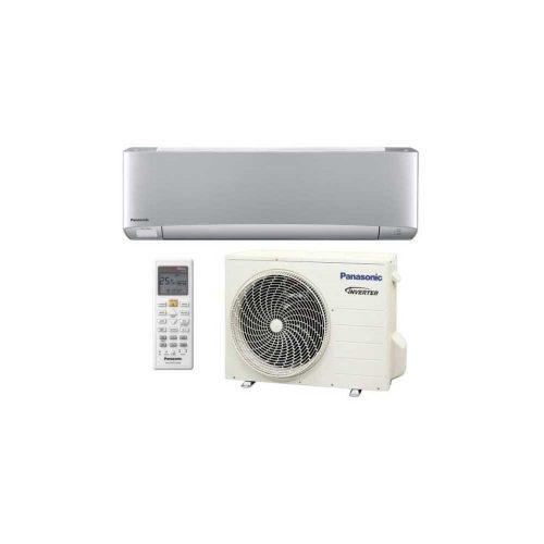 Panasonic Etherea KIT-XZ25-TKE Oldalfali Inverteres Split Klíma Ezüst