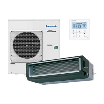 panasonic kit‐100pf1z5 paci inverteres legcsatornazhato klima