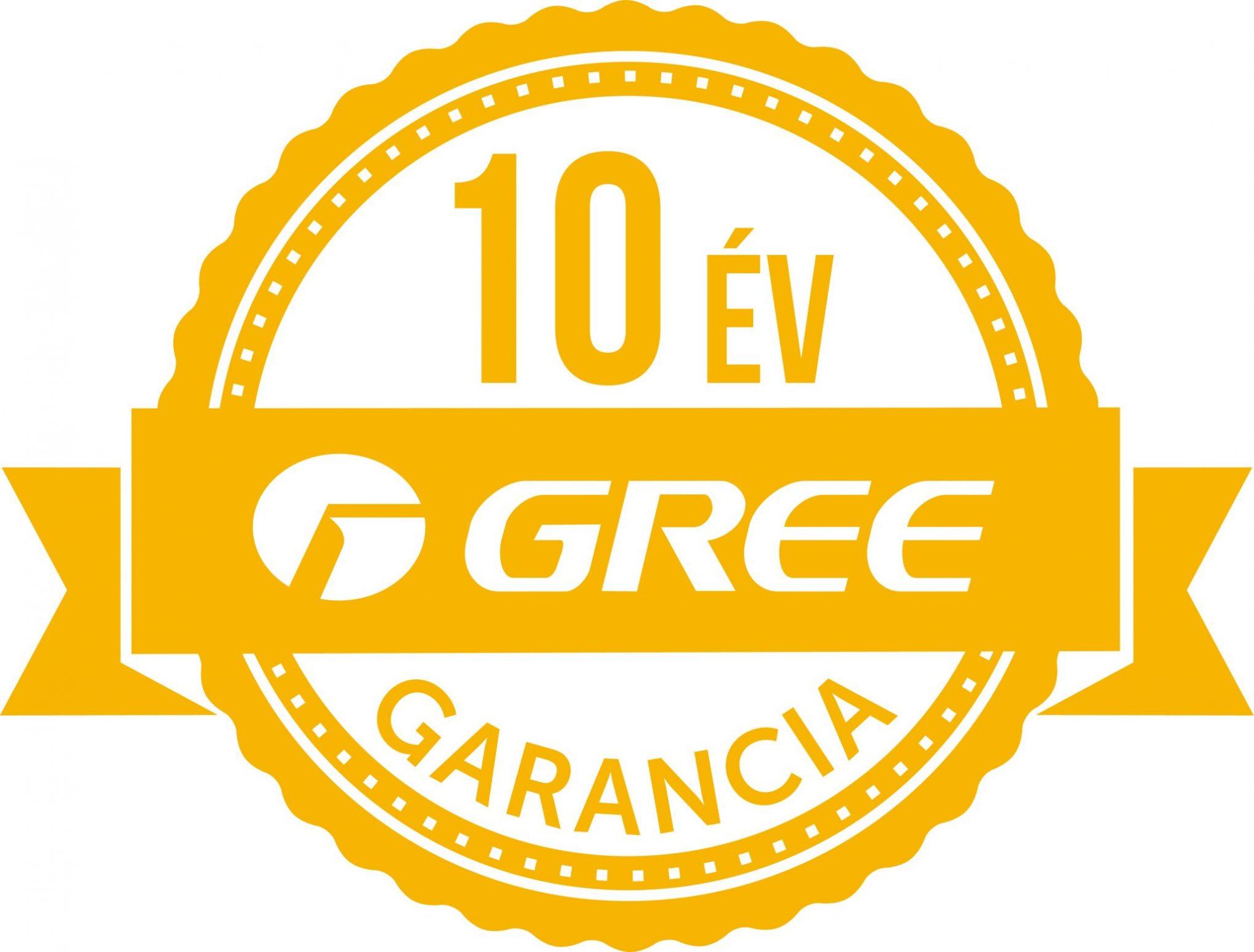 10 éva garancia gree